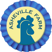 asheville farm ribbon
