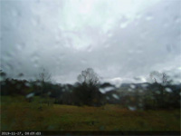 rainy, windy morning timelapse webcam