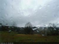 rainy, windy morning timelapse webcam